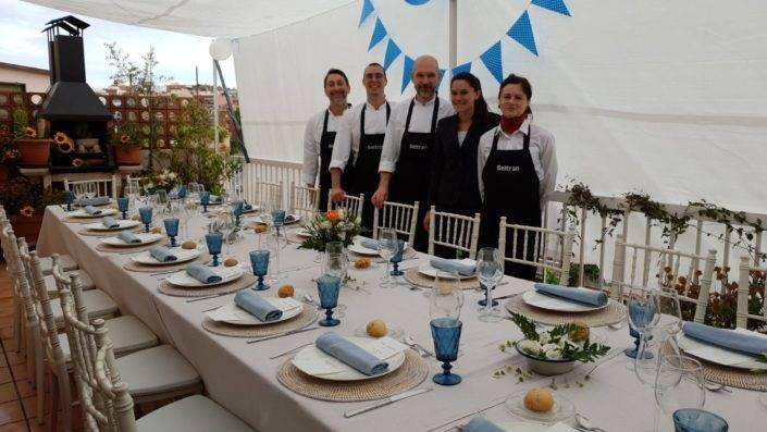Beltran Catering, servicio de eventos en Barcelona
