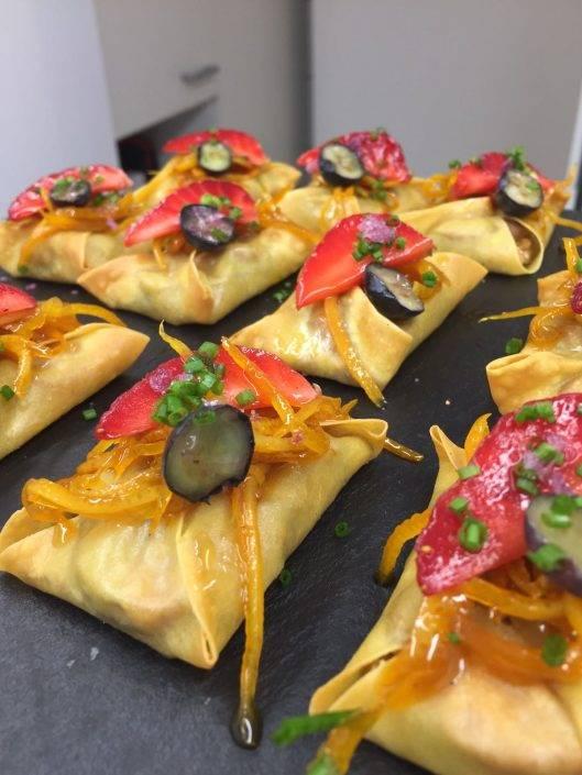 Selecció de canapés per esdeveniments a Beltran Catering