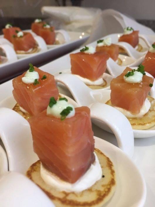 Platillos de cóctel en Beltran Catering