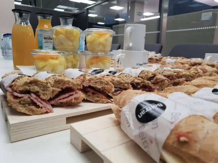 Catering Beltran, servei de menjars per esmorzars