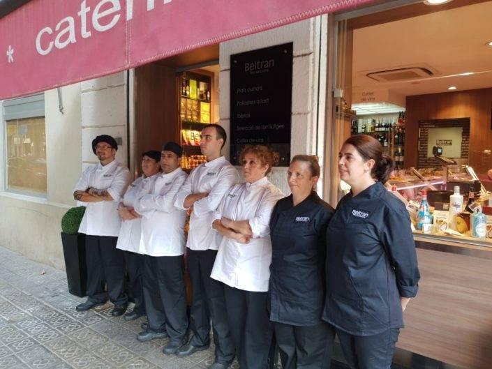 Catering Beltran, equipo de profesionales