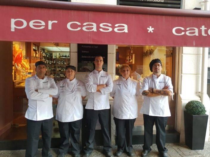 Catering Beltran, equip de professionals